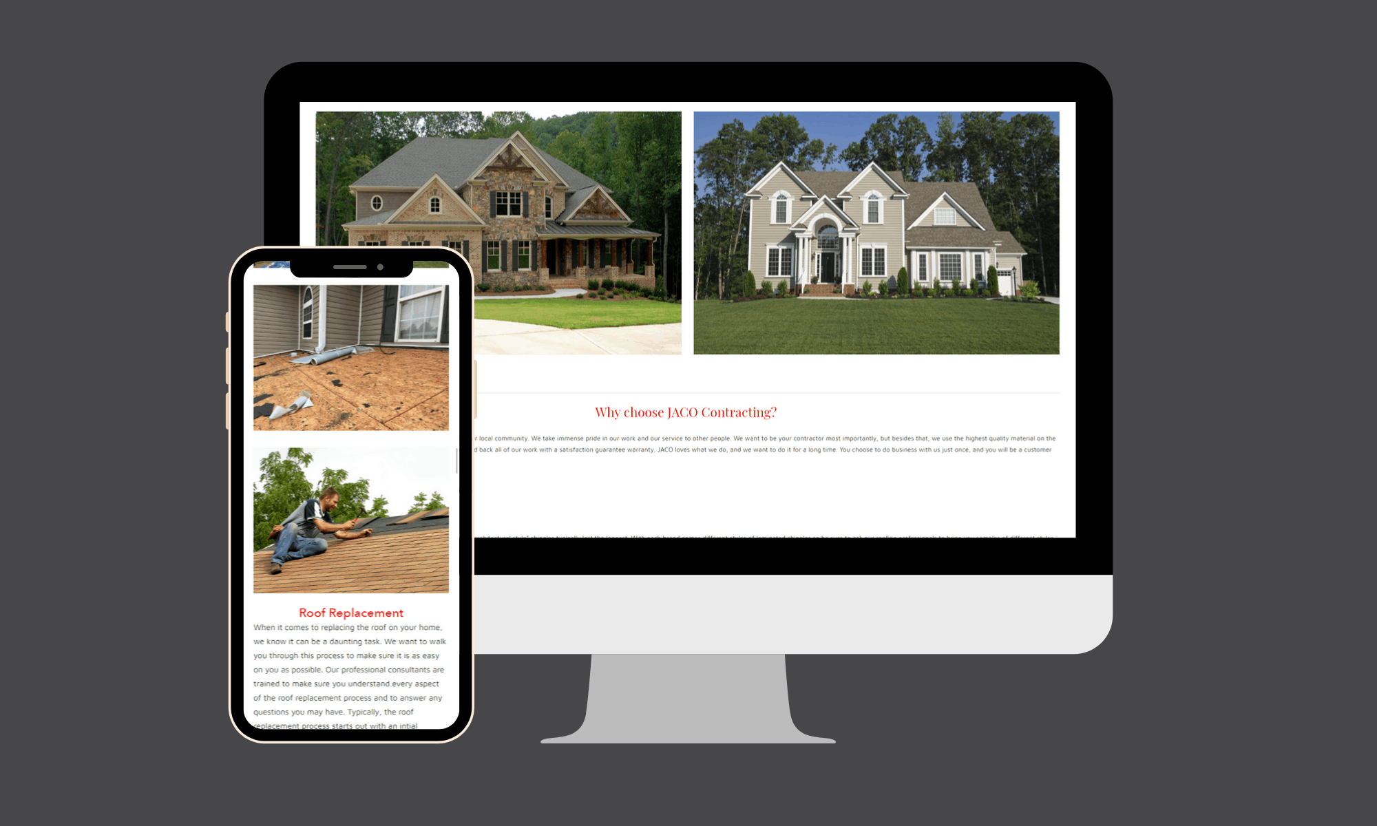 Search engine optimization and reputation management services for this Georgia based roofing company generated tremendous business growth.
